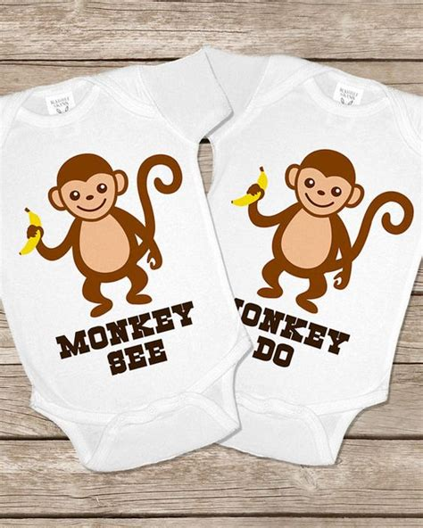 monkey onesies for babies monkey see do monkeys onesie onesies baby gifts
