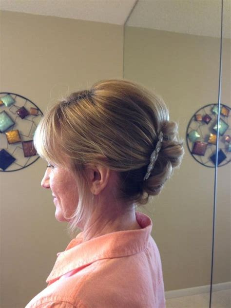 hairstyle ideas for mother of the bride the o jays bangs and wedding on pinterest