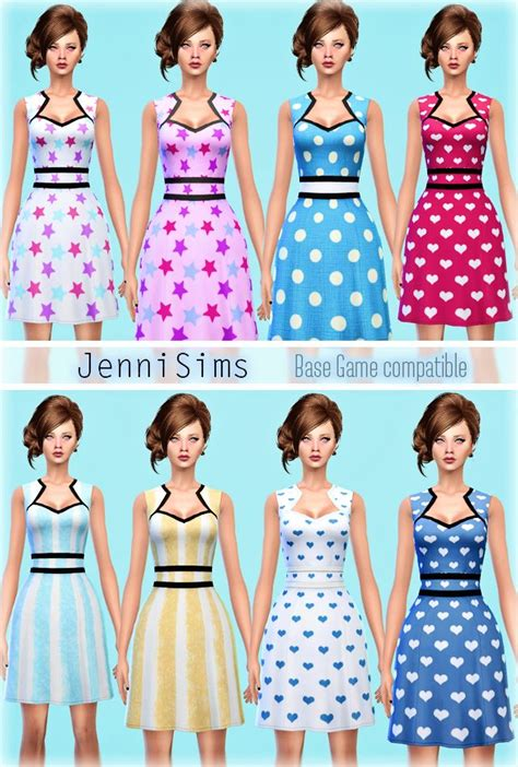 sims 4 updates sims finds sims must haves free sims jennisims downloads sims 4 sets of dress base game
