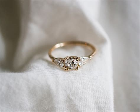 Vintage Rings by This Vintage Bespoke Engagement Ring Has Broken The