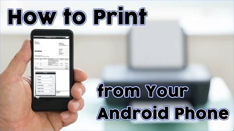 how to print on android how to print from your android phone triadoro