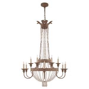 12 light chandeliers visual comfort nw5016agp cg lyon large 12 light chandelier