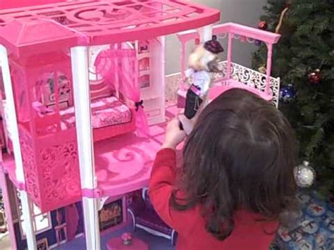 youtube barbie dream house barbie dream house christmas morning youtube