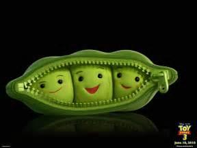 3 peas in a pod peas in a pod from story 3 desktop wallpaper