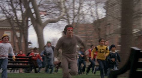 park benches movie how far did rocky run in the rocky movie