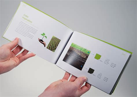 booklet layout guide gaia brand manual book on behance