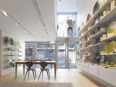 retail shop interior design of mud australia showroom new designoffice mud australia soho