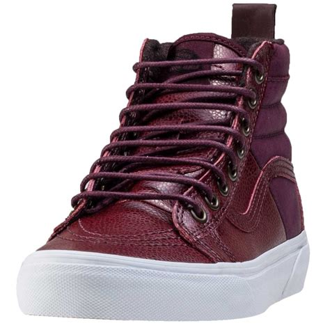 vans sk8 hi 46 mte womens trainers in port royal