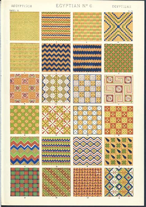 pattern in egyptian art theory
