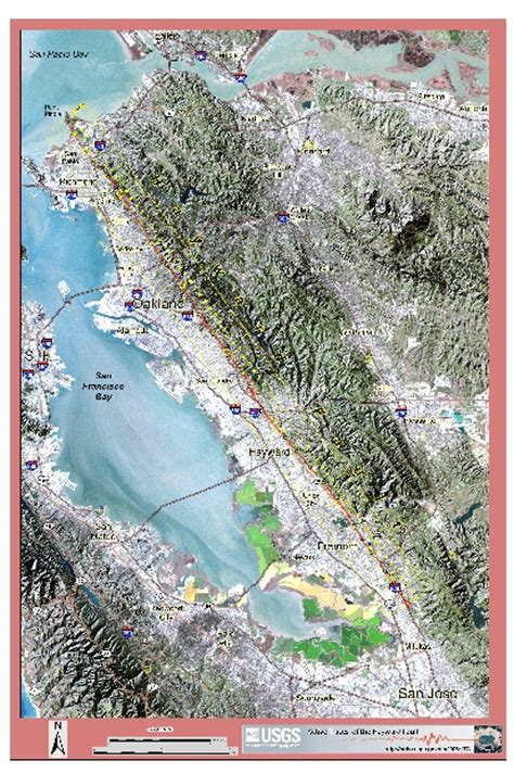 hayward fault map the hayward fault