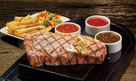 daftar harga menu steak  terbaru update