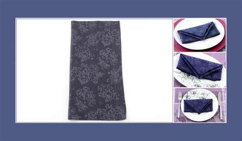 servietten falten tasche servietten falten anleitung tasche
