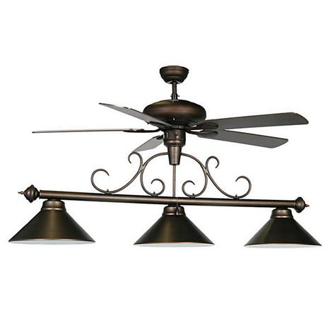 Ceiling Fan Pool Table Light Billiard Light With Ceiling Fan