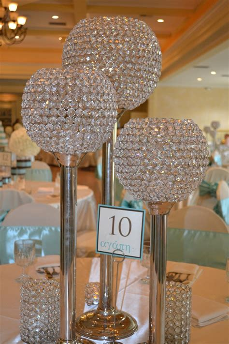 bling candle holders we re having on some tables at our