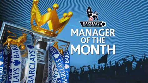 epl manager of the month epl english premier league epl ladder results table
