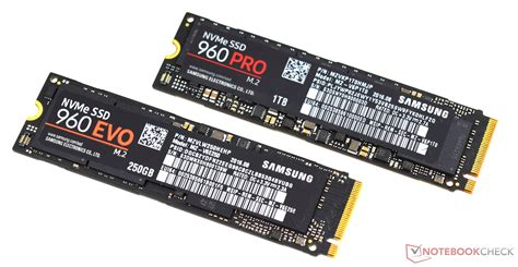 samsung 960 evo samsung 960 evo and samsung 960 pro ssd review notebookcheck net reviews