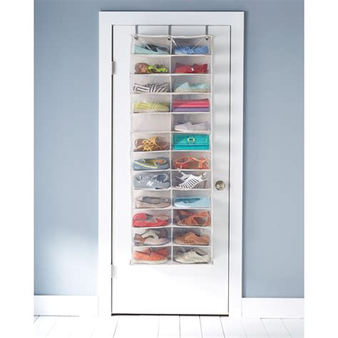 container store shoe storage the door shoe organizer 24 pocket the door