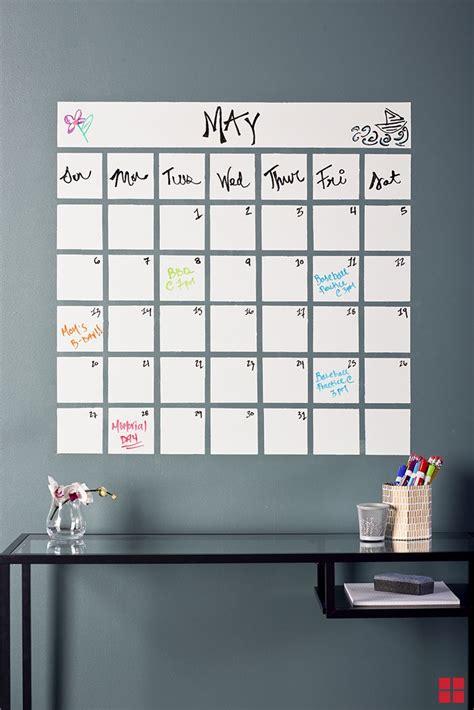 Diy Erase Calendar 25 Best Ideas About Erase Paint On Office