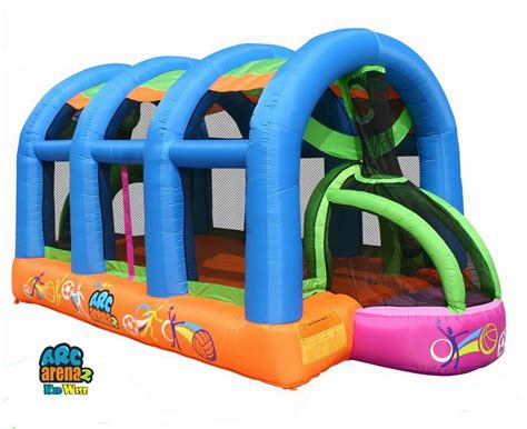 a bouncy house kidwise arc arena ii sports bounce house review bouncyhousesforkids com