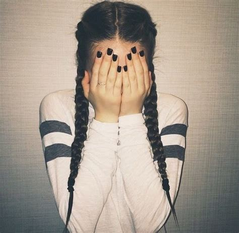 french braid pigtails instructions schoolgirl favorite braided pigtails step up your braid