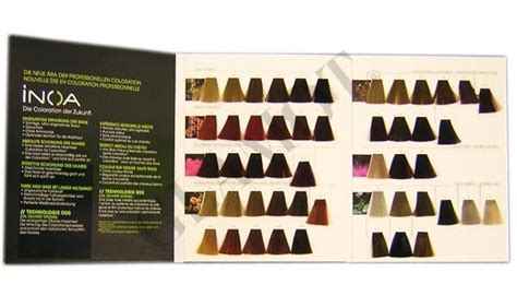 inoa hair color shade chart best hair color 2017 farbekarte loreal inoa glamot de