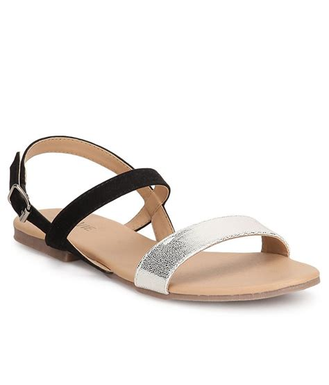 best offers on sandals lavie black flat sandals snapdeal price sandals deals at