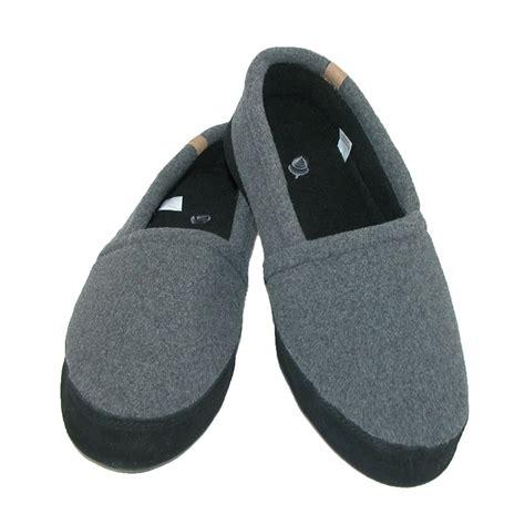 acorn mens slippers mens moc indoor outdoor lightweight slipper by acorn