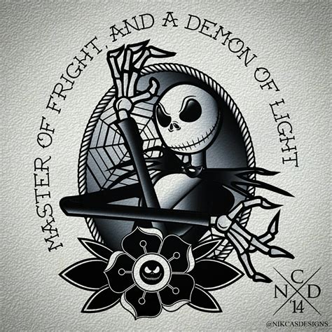 jack skellington tattoo design tattoos pinterest