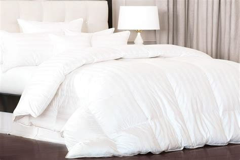 thick down alternative comforter down alternative comforter stripes le caire linens
