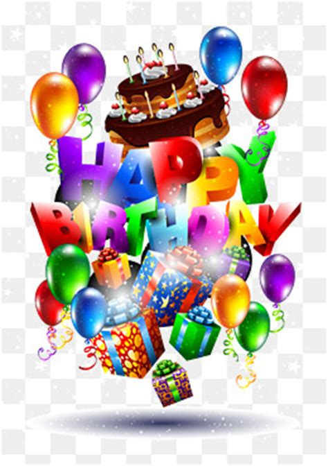 Confetti Omedetto happy birthday birthday blessing happy png image for free