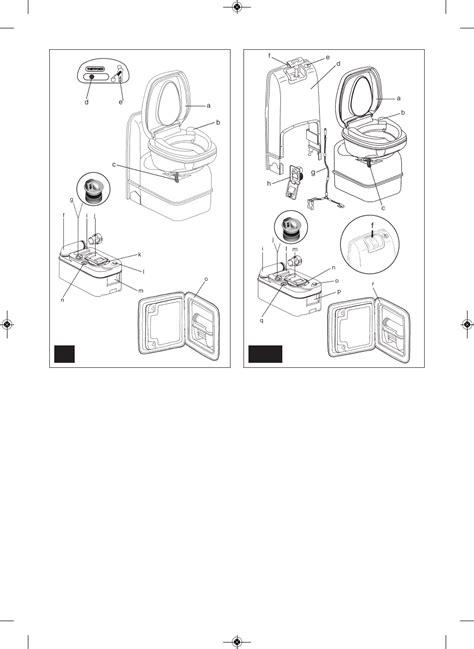 thetford c200 toilet handleiding handleiding thetford c200 pagina 35 van 36 dansk