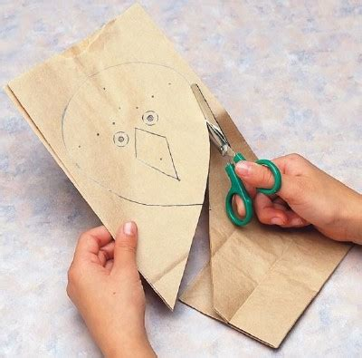 Paper Bag Kite Craft - how to make a paper kite for howstuffworks