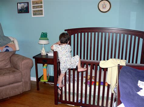Babies Climbing Out Of Cribs Climbing Out Of His Crib Flickr Photo