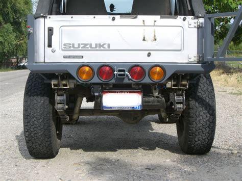 Suzuki Bumper Zuk N Ovations A Suzuki Adventure Company Safari Rear