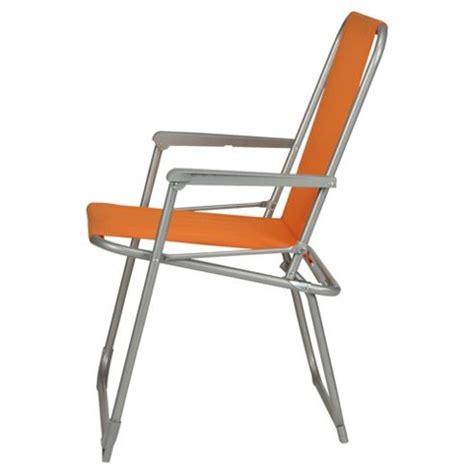 buy tesco picnic folding chair orange from our garden