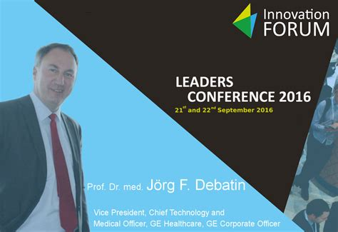 Mba Best Conference 2016 by Prof Dr Med J 246 Rg F Debatin Mba Innovation Forum