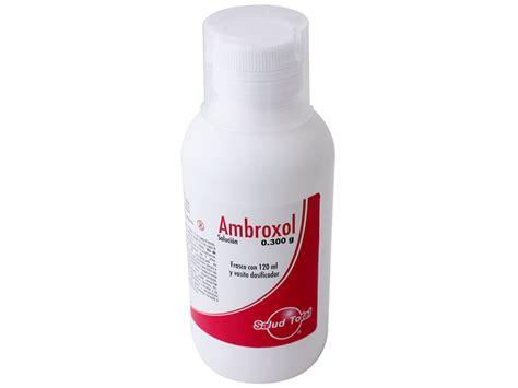 T Enanted 300mgml ambroxol 300mg 100ml solucion lgen 120 ml