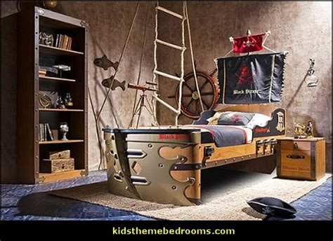 Pirate Themed Bedroom | decorating theme bedrooms maries manor pirate bedrooms pirate themed furniture nautical
