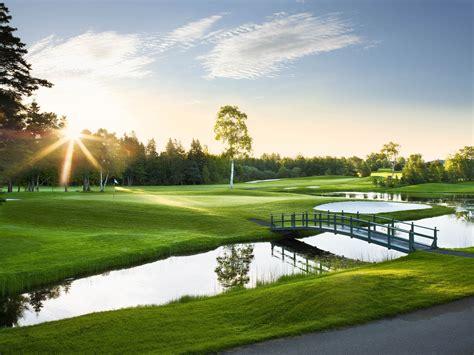 desk golf golf course hd wallpaper