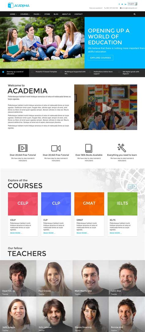 35 best responsive education html templates 2016