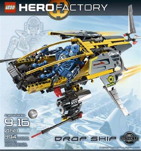 ship hero lego 174 hero factory drop ship 7 sale r50 off your first