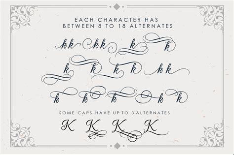 Wedding Font Bundle by Beradon Script Wedding Font B Font Bundles