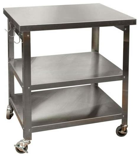 outdoor kitchen carts cocina kitchen cart with stainless steel top industrial