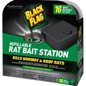 black flag refillable rat bait station hg 11057 the home