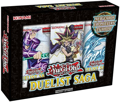 Yugioh Duelist Saga Mini Box 3 Booster Collectors Edition Original Yu Gi Oh Duelist Saga Booster Mini Box Yu Gi Oh Sealed