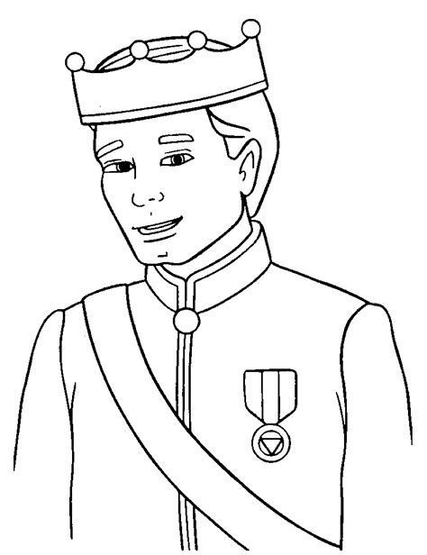 Prince Coloring Page Wallpaper Cucumberpress