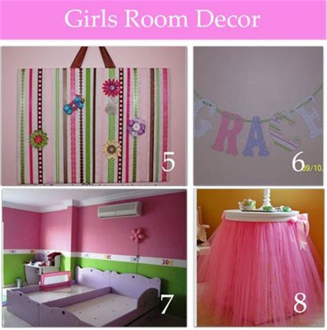 girls room decor cute girls room decor several diy wink chic
