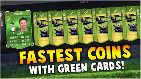 how to make a green card fifa 15 special green cards how to make coins