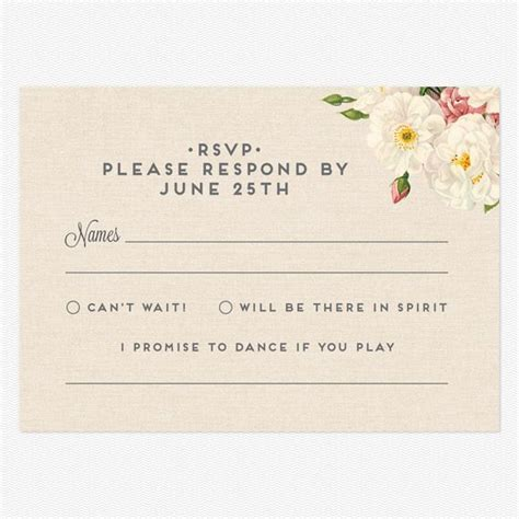 Wedding Card Reply by Reply Postcards Quot I Promise To If You Play