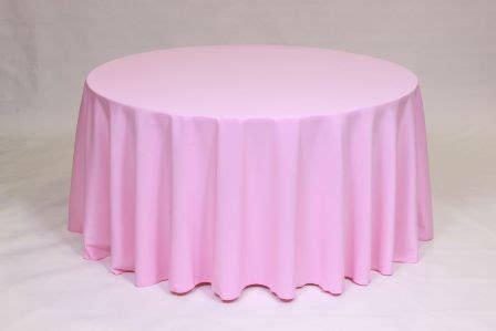 light pink 120 round tablecloth linen colors mutton party and tent rental serving
